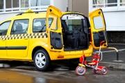 Лада Ларгус такси фото грузового отсека