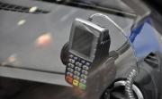 Лада Ларгус такси фото терминала для пластиковых карт