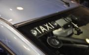 Лада Ларгус такси фото светящейся надписи