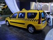 Лада Ларгус такси фото сбоку с кормы