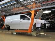 Лада Ларгус фургон фото кузова на производстве