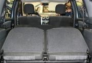 Фото сложенного заднего ряда сидений