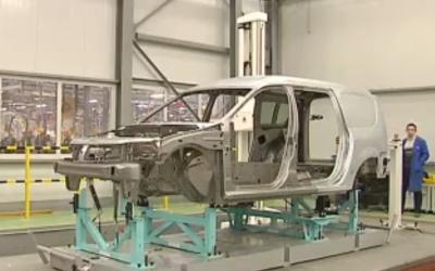 Технологии изготовления кузова Lada Largus R90