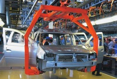 Предсерийная сборка Lada Largus R90