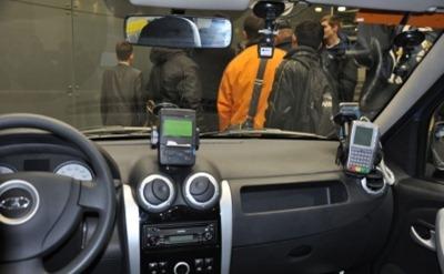 Салон Лада Ларгус такси