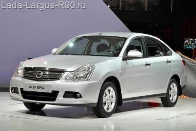 АВТОВАЗовская Nissan Almera