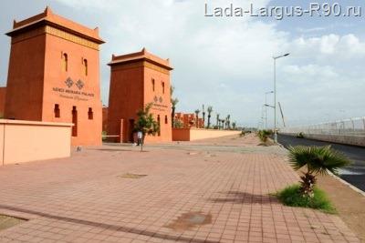 Гоночная трасса в Морокко